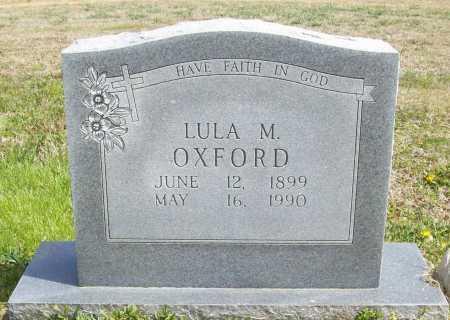OXFORD, LULA M. - Benton County, Arkansas   LULA M. OXFORD - Arkansas Gravestone Photos