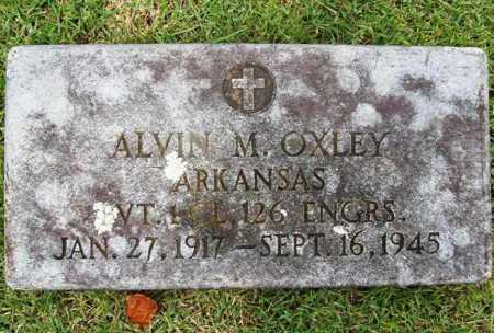 OXLEY (VETERAN WWII), ALVIN M. - Benton County, Arkansas | ALVIN M. OXLEY (VETERAN WWII) - Arkansas Gravestone Photos