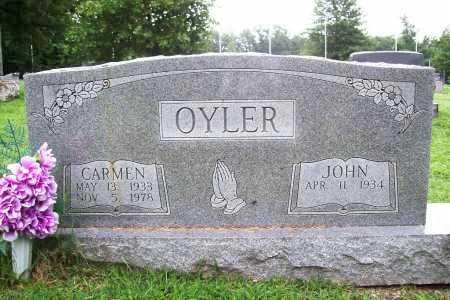 OYLER, CARMEN - Benton County, Arkansas   CARMEN OYLER - Arkansas Gravestone Photos