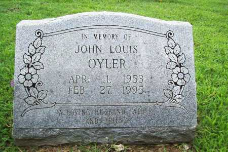 OYLER, JOHN LOUIS - Benton County, Arkansas | JOHN LOUIS OYLER - Arkansas Gravestone Photos