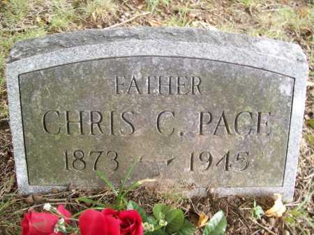 PACE, CHRIS C. - Benton County, Arkansas | CHRIS C. PACE - Arkansas Gravestone Photos