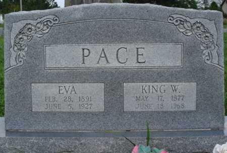 PACE, KING W. - Benton County, Arkansas | KING W. PACE - Arkansas Gravestone Photos