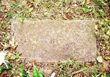 PACE, EARNEST DEAN - Benton County, Arkansas   EARNEST DEAN PACE - Arkansas Gravestone Photos
