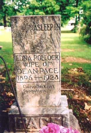 POLLOCK PACE, EDNA P. - Benton County, Arkansas   EDNA P. POLLOCK PACE - Arkansas Gravestone Photos