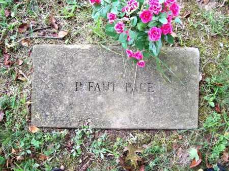 PACE, INFANT - Benton County, Arkansas | INFANT PACE - Arkansas Gravestone Photos