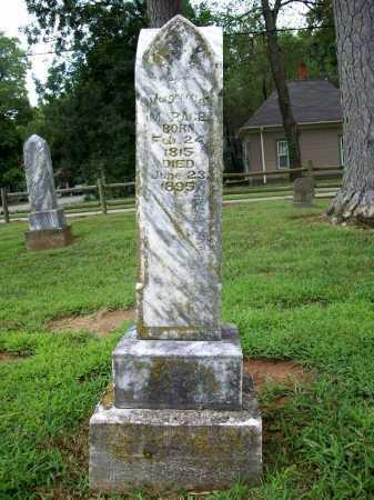 PACE, MARGARETTE M. - Benton County, Arkansas   MARGARETTE M. PACE - Arkansas Gravestone Photos