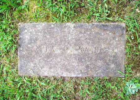 PACKARD, H. G. - Benton County, Arkansas | H. G. PACKARD - Arkansas Gravestone Photos
