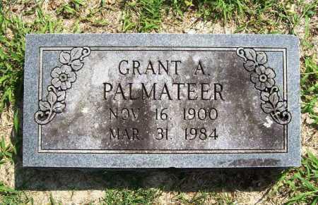 PALMATEER, GRANT A. - Benton County, Arkansas   GRANT A. PALMATEER - Arkansas Gravestone Photos