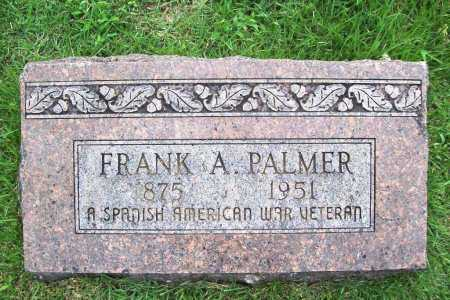 PALMER (VETERAN SAW), FRANK A. - Benton County, Arkansas | FRANK A. PALMER (VETERAN SAW) - Arkansas Gravestone Photos