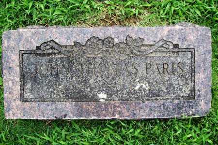 PARIS, JOHN THOMAS - Benton County, Arkansas | JOHN THOMAS PARIS - Arkansas Gravestone Photos