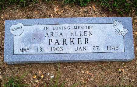 PARKER, ARFA ELLEN - Benton County, Arkansas   ARFA ELLEN PARKER - Arkansas Gravestone Photos
