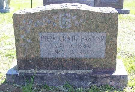 CRAIG PARKER, CORA - Benton County, Arkansas   CORA CRAIG PARKER - Arkansas Gravestone Photos