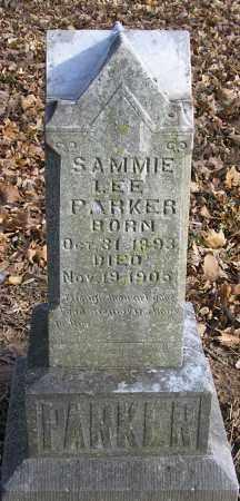 PARKER, SAMMIE LEE - Benton County, Arkansas   SAMMIE LEE PARKER - Arkansas Gravestone Photos