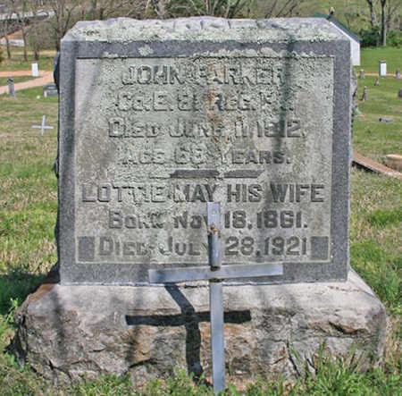 PARKER (VETERAN UNION), JOHN - Benton County, Arkansas | JOHN PARKER (VETERAN UNION) - Arkansas Gravestone Photos