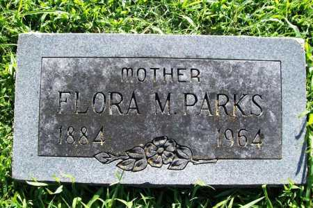 PARKS, FLORA M. - Benton County, Arkansas | FLORA M. PARKS - Arkansas Gravestone Photos