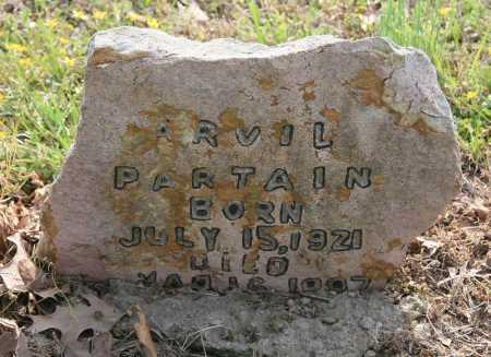 PARTAIN, ARVIL - Benton County, Arkansas | ARVIL PARTAIN - Arkansas Gravestone Photos