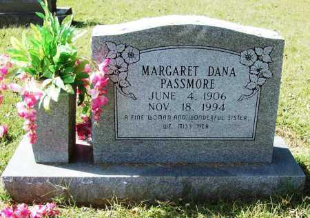 DANA PASSMORE, MARGARET - Benton County, Arkansas | MARGARET DANA PASSMORE - Arkansas Gravestone Photos