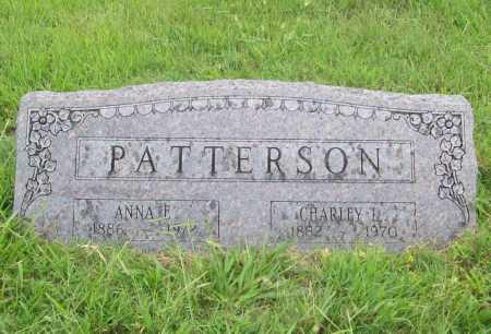 PATTERSON, ANNA E. - Benton County, Arkansas | ANNA E. PATTERSON - Arkansas Gravestone Photos