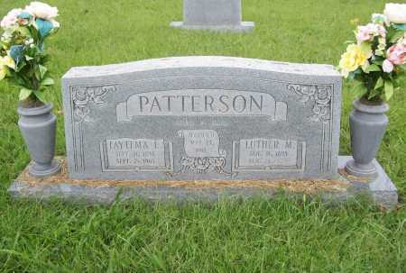 PATTERSON, FAYTEMA L. - Benton County, Arkansas   FAYTEMA L. PATTERSON - Arkansas Gravestone Photos