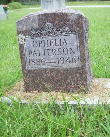 PATTERSON, OPHELIA - Benton County, Arkansas   OPHELIA PATTERSON - Arkansas Gravestone Photos