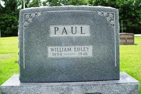 PAUL, WILLIAM EDLEY - Benton County, Arkansas | WILLIAM EDLEY PAUL - Arkansas Gravestone Photos