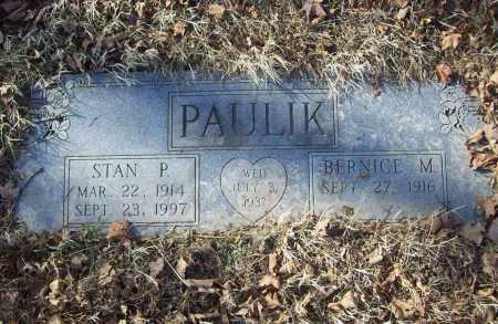 PAULIK, BERNICE MARILYN - Benton County, Arkansas | BERNICE MARILYN PAULIK - Arkansas Gravestone Photos