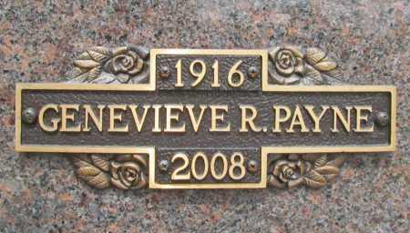 PAYNE, GENEVIEVE RUTH - Benton County, Arkansas | GENEVIEVE RUTH PAYNE - Arkansas Gravestone Photos