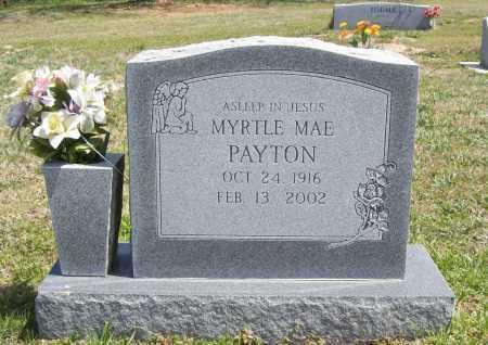 HARRINGTON PAYTON, MYRTLE MAE - Benton County, Arkansas | MYRTLE MAE HARRINGTON PAYTON - Arkansas Gravestone Photos
