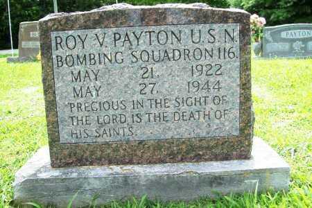 PAYTON, ROY V. - Benton County, Arkansas | ROY V. PAYTON - Arkansas Gravestone Photos