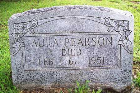PEARSON, AURA - Benton County, Arkansas | AURA PEARSON - Arkansas Gravestone Photos