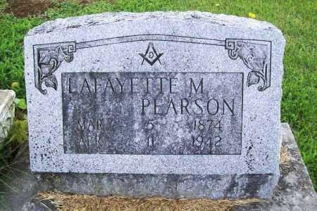 PEARSON, LAFAYETTE M. - Benton County, Arkansas | LAFAYETTE M. PEARSON - Arkansas Gravestone Photos