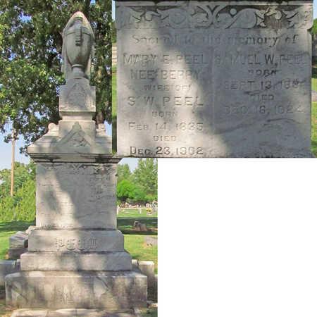 BERRY PEEL, MARY EMALINE - Benton County, Arkansas | MARY EMALINE BERRY PEEL - Arkansas Gravestone Photos