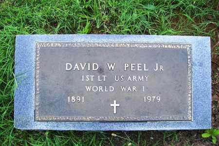 PEEL (VETERAN WWI) (FAMOUS), DAVID W JR - Benton County, Arkansas | DAVID W JR PEEL (VETERAN WWI) (FAMOUS) - Arkansas Gravestone Photos