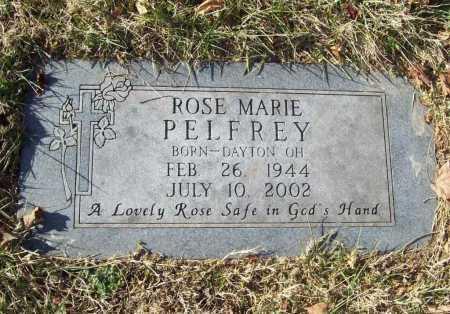 PELFREY, ROSE MARIE - Benton County, Arkansas   ROSE MARIE PELFREY - Arkansas Gravestone Photos