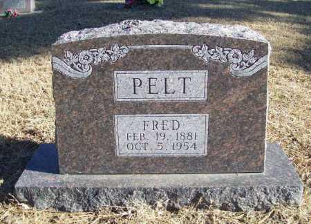 PELT, FRED - Benton County, Arkansas | FRED PELT - Arkansas Gravestone Photos