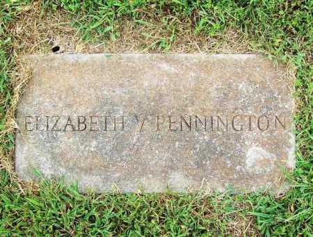 BARKLEY PENNINGTON, ELIZABETH V. - Benton County, Arkansas | ELIZABETH V. BARKLEY PENNINGTON - Arkansas Gravestone Photos