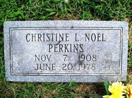 PERKINS, CHRISTINE L. - Benton County, Arkansas | CHRISTINE L. PERKINS - Arkansas Gravestone Photos
