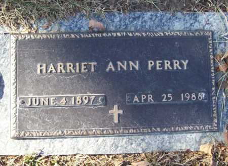 PERRY, HARRIET ANN - Benton County, Arkansas   HARRIET ANN PERRY - Arkansas Gravestone Photos