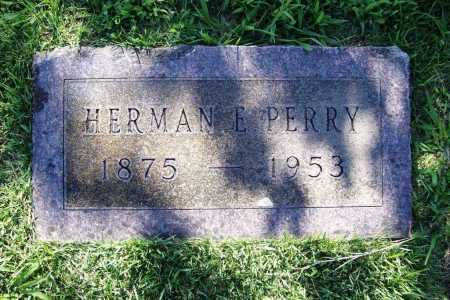 PERRY, HERMAN E. - Benton County, Arkansas | HERMAN E. PERRY - Arkansas Gravestone Photos