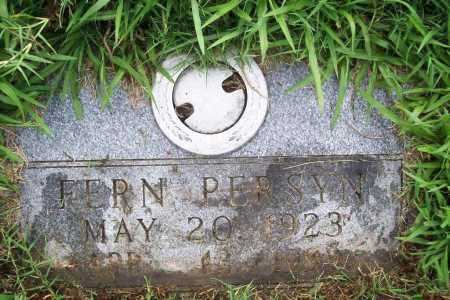 PERSYN, FERN - Benton County, Arkansas | FERN PERSYN - Arkansas Gravestone Photos