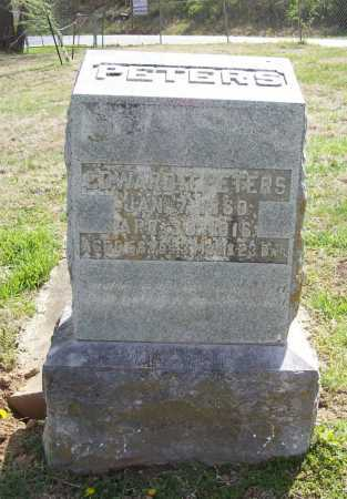 PETERS, EDWARD - Benton County, Arkansas   EDWARD PETERS - Arkansas Gravestone Photos