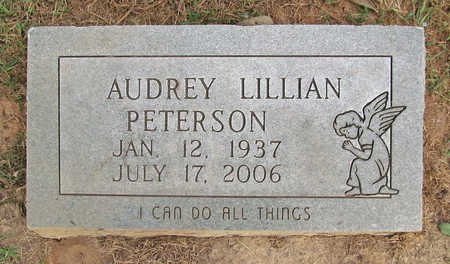 PETERSON, AUDREY LILLIAN - Benton County, Arkansas | AUDREY LILLIAN PETERSON - Arkansas Gravestone Photos