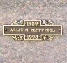 PETTYPOOL, ARLIE M. - Benton County, Arkansas | ARLIE M. PETTYPOOL - Arkansas Gravestone Photos