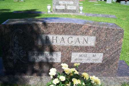 PHAGAN, MORRISON F. - Benton County, Arkansas | MORRISON F. PHAGAN - Arkansas Gravestone Photos