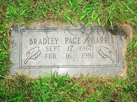PHARR, BRADLEY PAGE - Benton County, Arkansas | BRADLEY PAGE PHARR - Arkansas Gravestone Photos