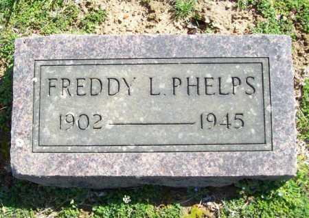 PHELPS, FREDDY L. - Benton County, Arkansas   FREDDY L. PHELPS - Arkansas Gravestone Photos