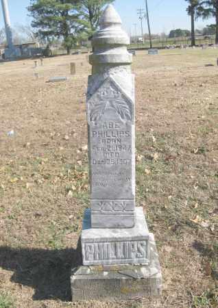 PHILLIPS, ABE - Benton County, Arkansas | ABE PHILLIPS - Arkansas Gravestone Photos