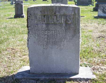 PHILLIPS, BERTHA M. - Benton County, Arkansas | BERTHA M. PHILLIPS - Arkansas Gravestone Photos