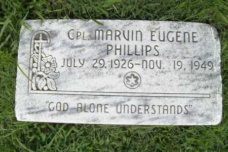 PHILLIPS (VETERAN), MARVIN EUGENE - Benton County, Arkansas | MARVIN EUGENE PHILLIPS (VETERAN) - Arkansas Gravestone Photos