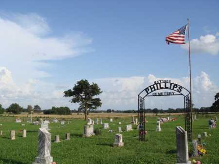 *PHILLIPS CEMETERY OVERVIEW,  - Benton County, Arkansas |  *PHILLIPS CEMETERY OVERVIEW - Arkansas Gravestone Photos